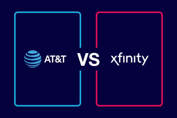 Compare AT&T Vs  Xfinity - InMyArea com